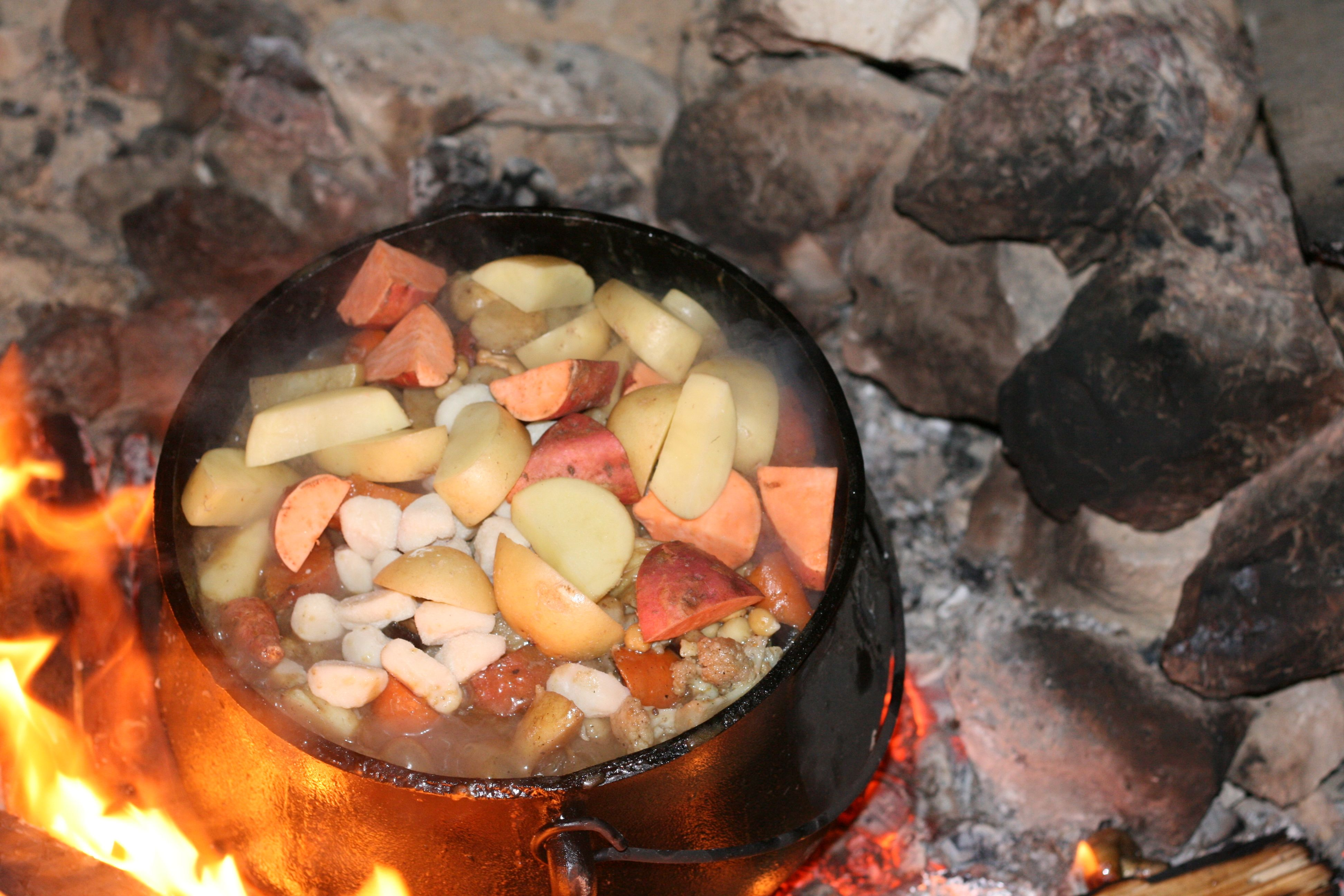 Poyke. Israelis adopted this south african caldron as their solution for dinner while camping out Photography by: Matan Kehat