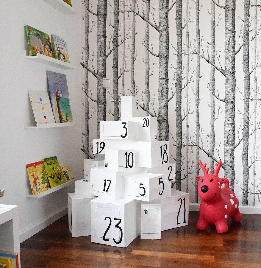 Die besten 25 weihnachtsdeko kinderzimmer ideen auf pinterest girlande kinderzimmer deko - Weihnachtsdeko kinderzimmer ...