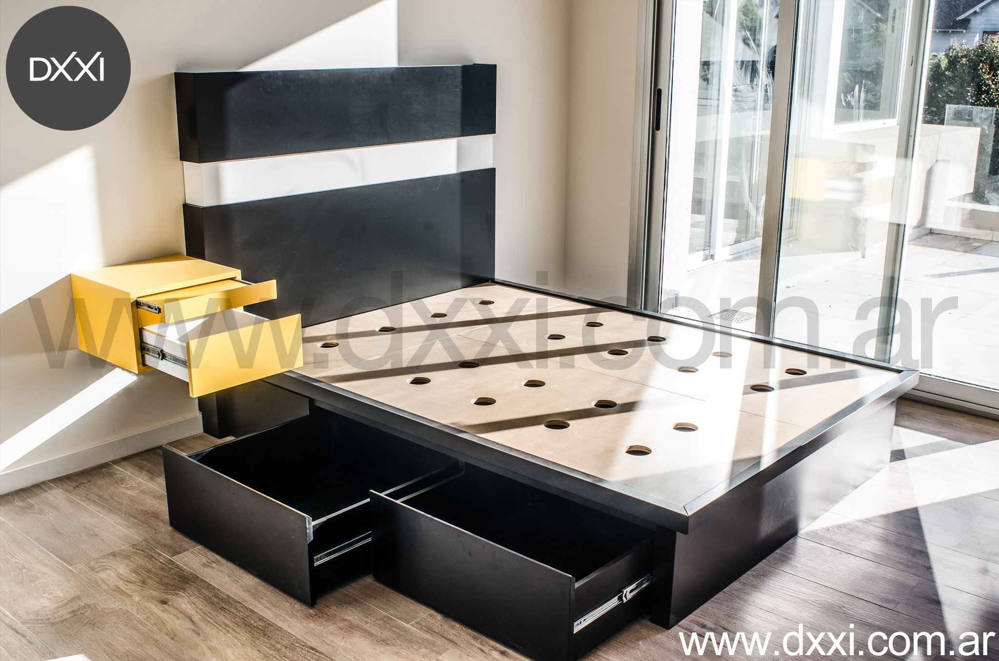 Furniture designed manufactured by dxxi buenos aires for Muebles contemporaneos argentina