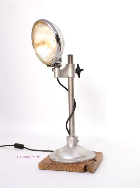 Quirkistuff Industrial Steampunk Vintage Headlight Lamp Lamp Lighting Inspiration Lamp Light