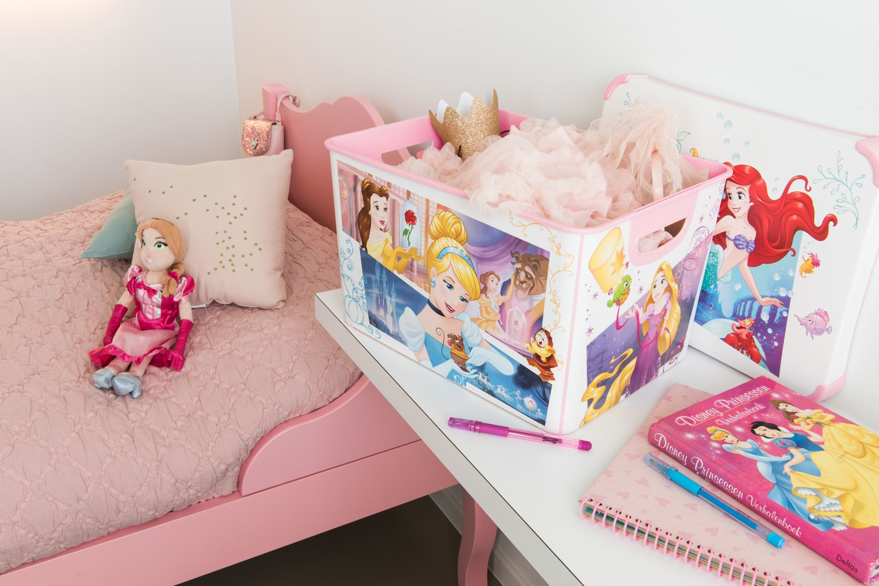 #Curver #Disney #Princess #Storage #Box #Kids #Girls