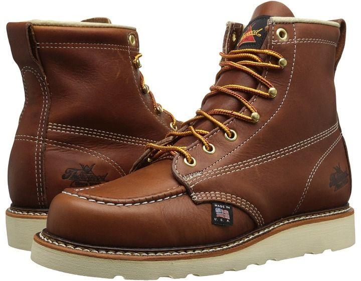 4579c414b79 Thorogood 6 Soft Moc Toe Men's Work Boots | Men's fashion | Boots ...