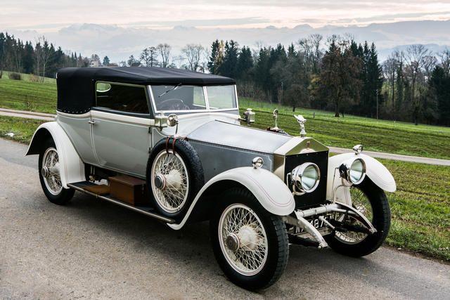 Rolls-Royce 40/50 HP Silver Ghost cabriolet 1921