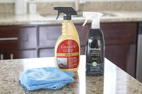 How To Seal Granite Countertops With Images House Cleaning