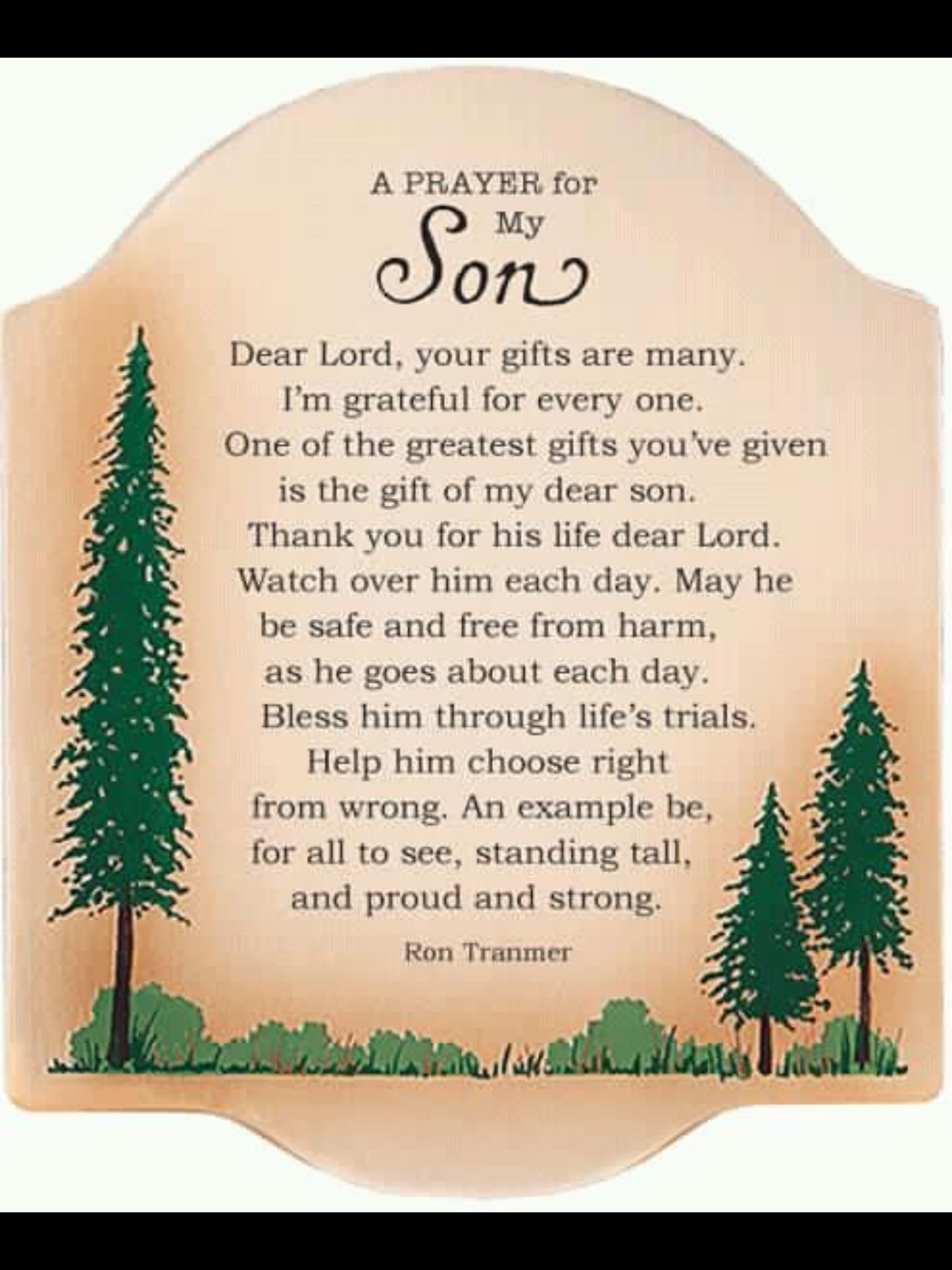 Positive Inspiration Quotes A Prayer For My Son