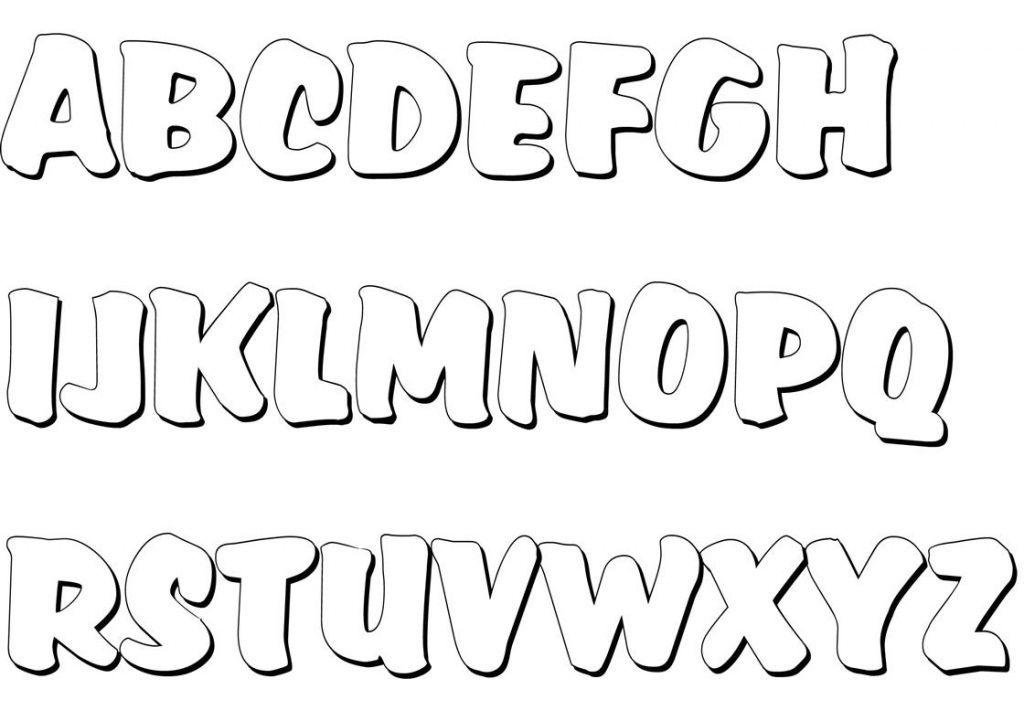 Buchstaben Ausmalen Alphabet Malvorlagen A Z Buchstaben