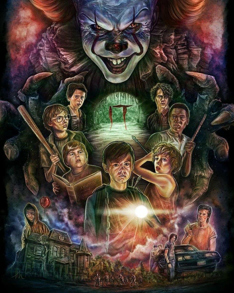 It 2017 Horror Movie Art Horror Movie Posters Movie Wallpapers