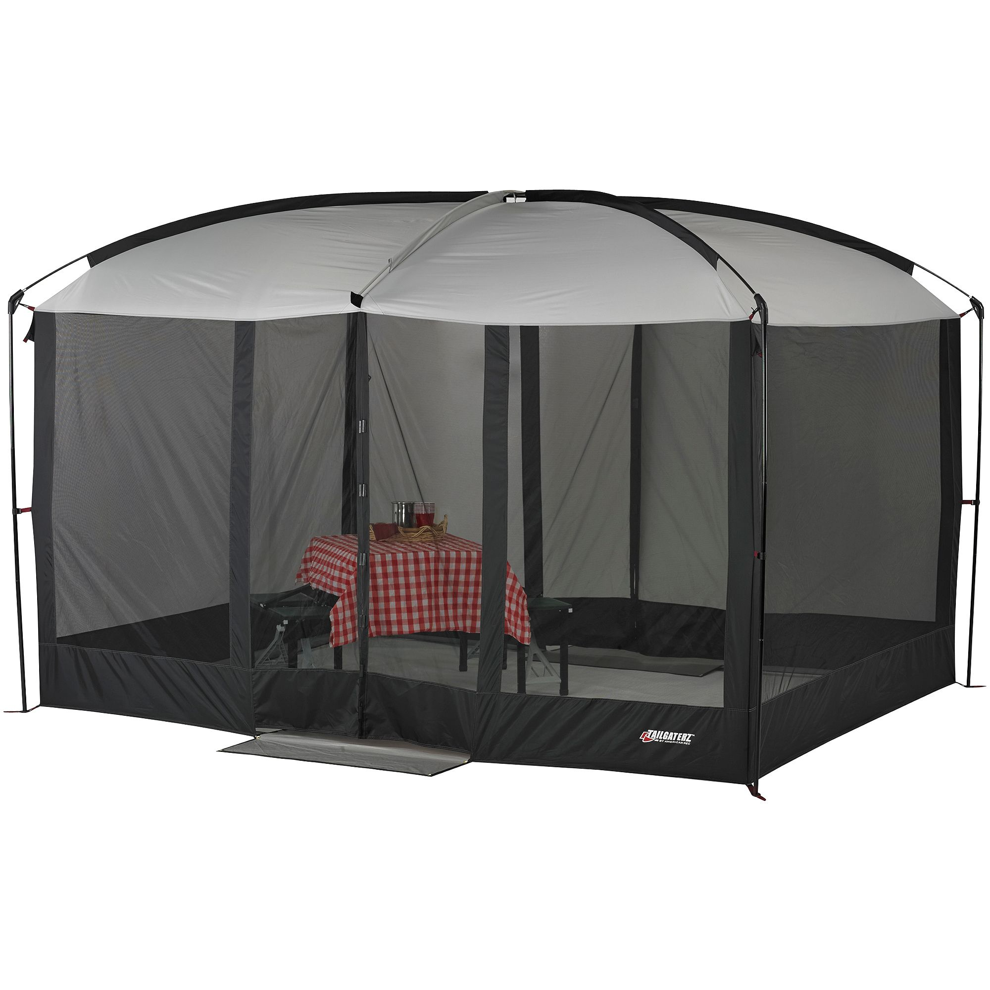 Magnetic Screen Tent House Tailgate Shelter C&ing Bbq Mosquitoes Bugs X Graphi  sc 1 st  Pinterest & Tailgaterz 11u0027 x 9u0027 Magnetic Screen House Game Day Graphite ...