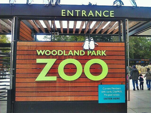 Woodland Park Zoo West Gate Woodland Park Zoo West Gate Zoo