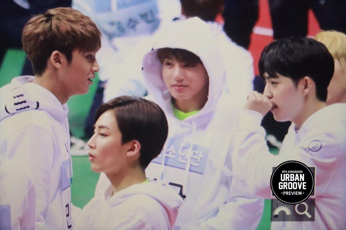 Jungkook With Seventeen Isac 2017 170116 3 Dengan Gambar