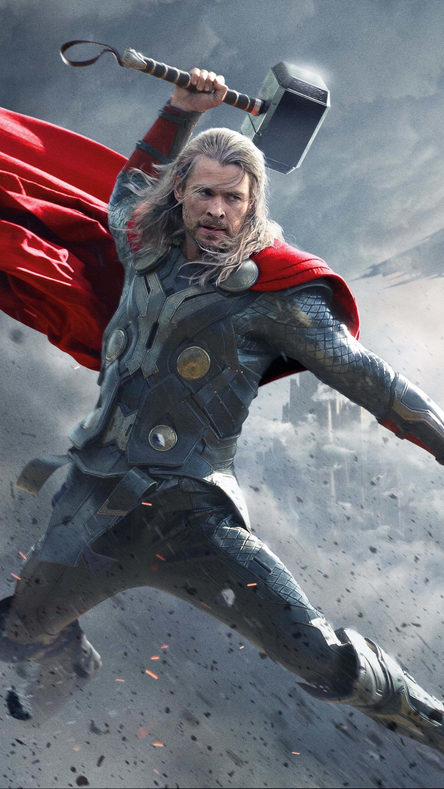 Thor Superhero Chris Hemsworth 4K Ultra HD Mobile