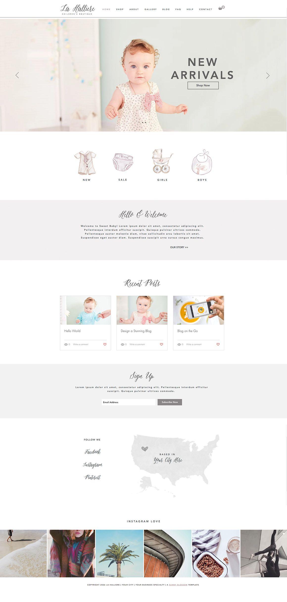 Wix Website design, boutique website design, commerce website ...