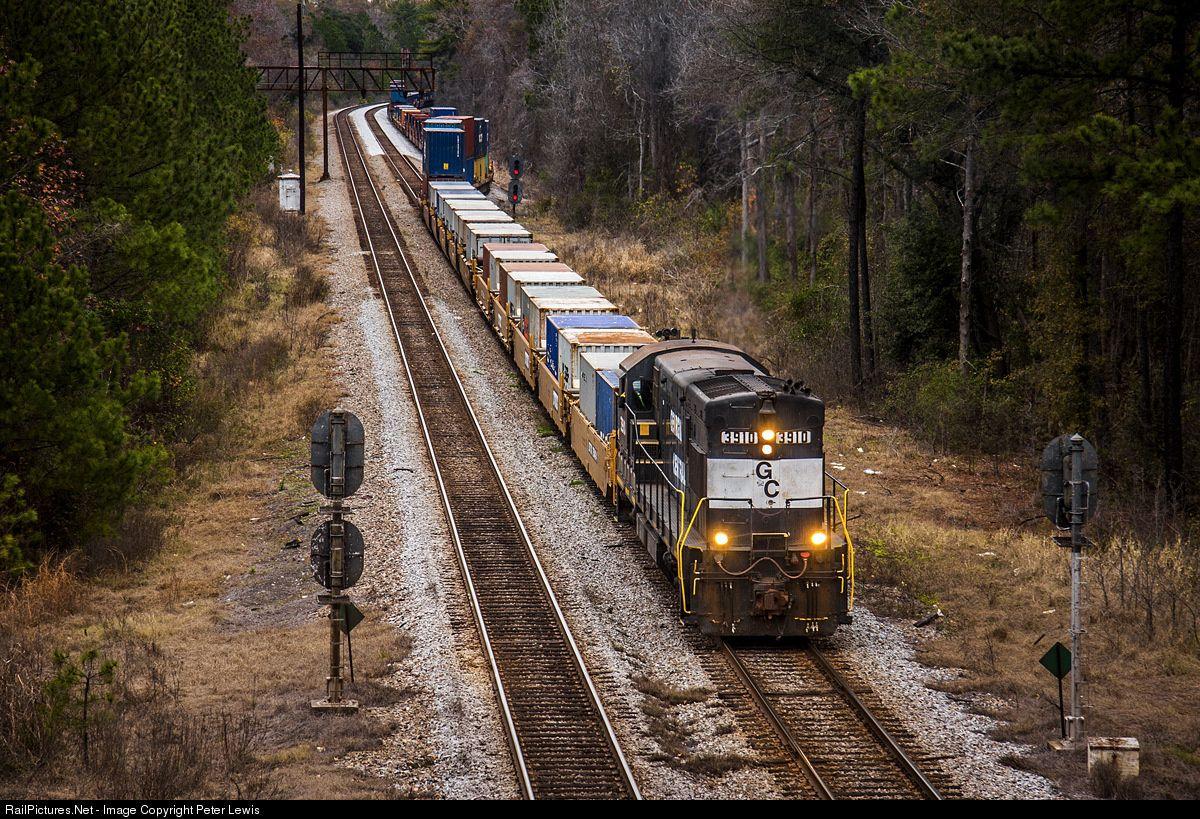 RailPictures.Net Photo: GC 3910 Georgia Central Railroad GE U23B at ...