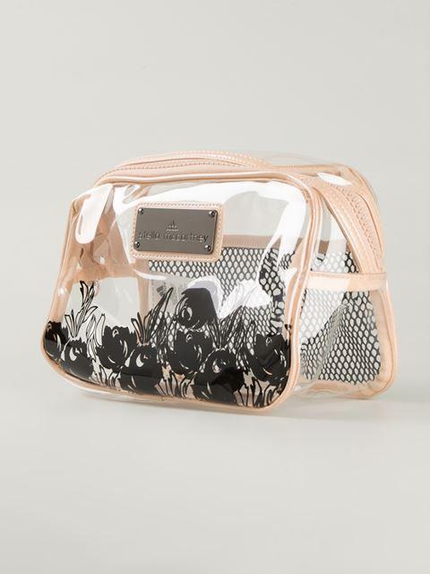 Adidas By Stella Mccartney Transparent Wash Bag Torregrossa Farfetch Com Vintage Leather Handbag Stella Mccartney Adidas Shoe Pouch