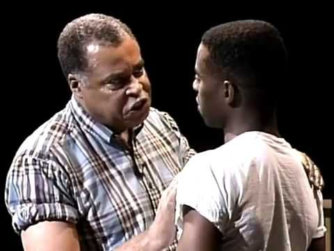 Fences - Analyzing Staging in Act 1, Scene 3 - \