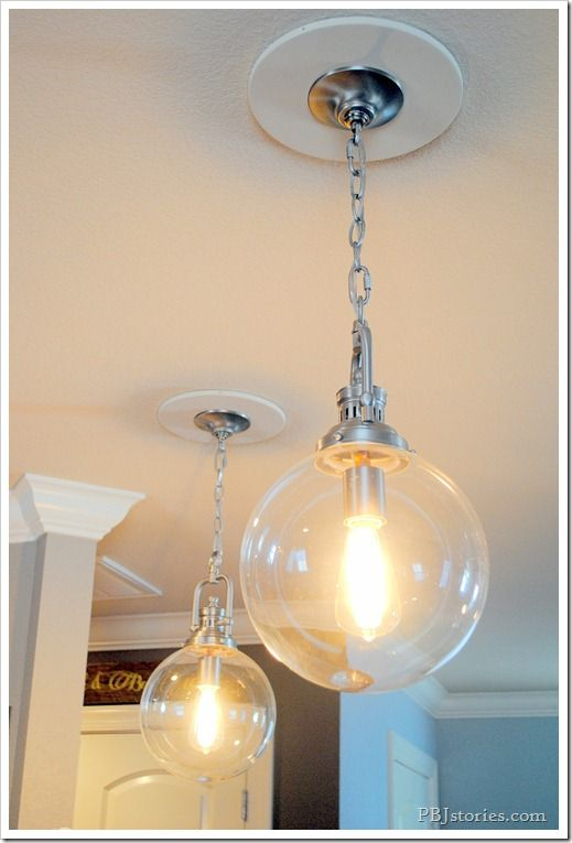 Converting A Recessed Light To A Hanging Pendant Light