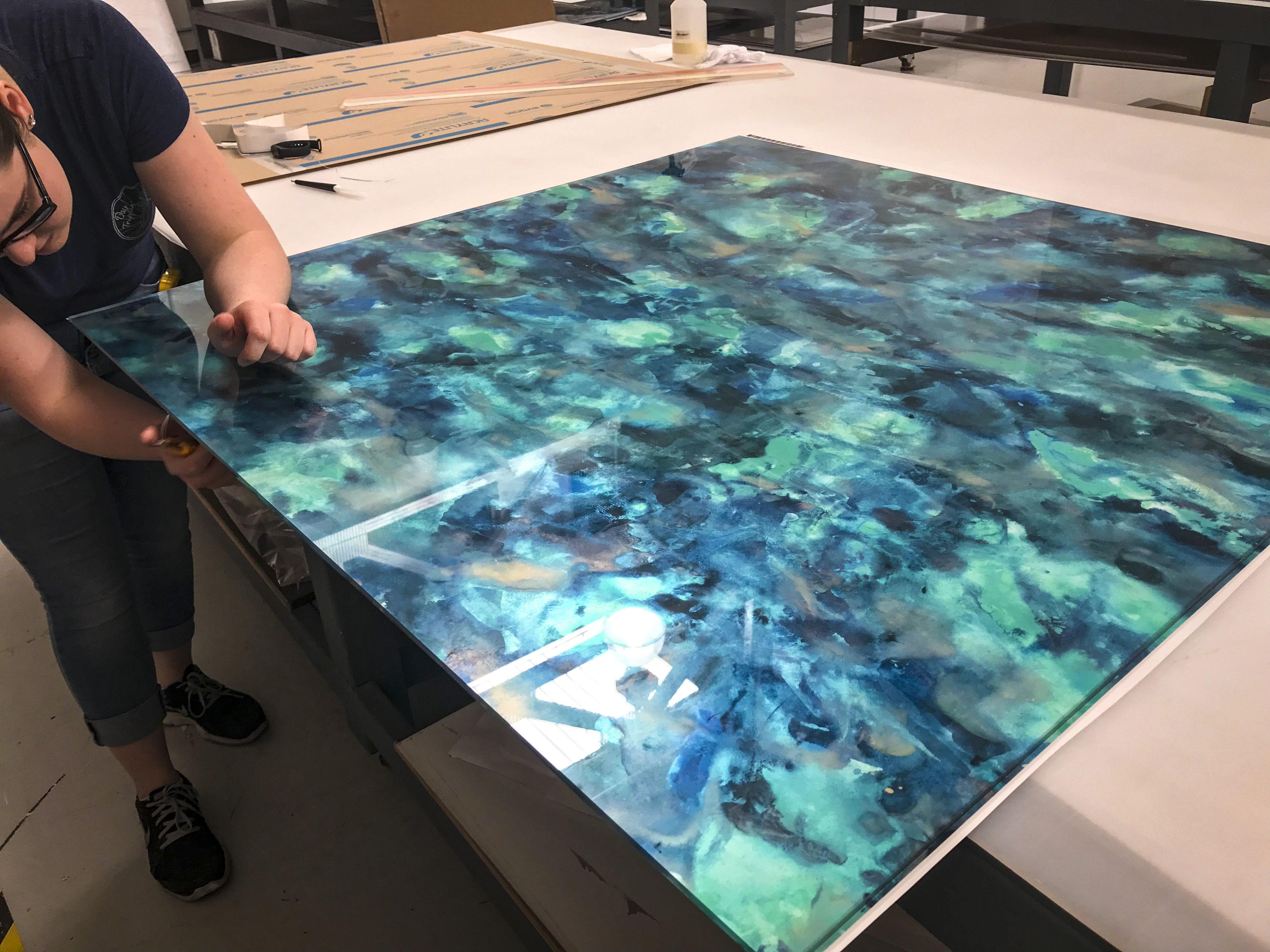 Custom Acrylic Art Print In Process Acrylic Art Print Professional Printing Definition Art