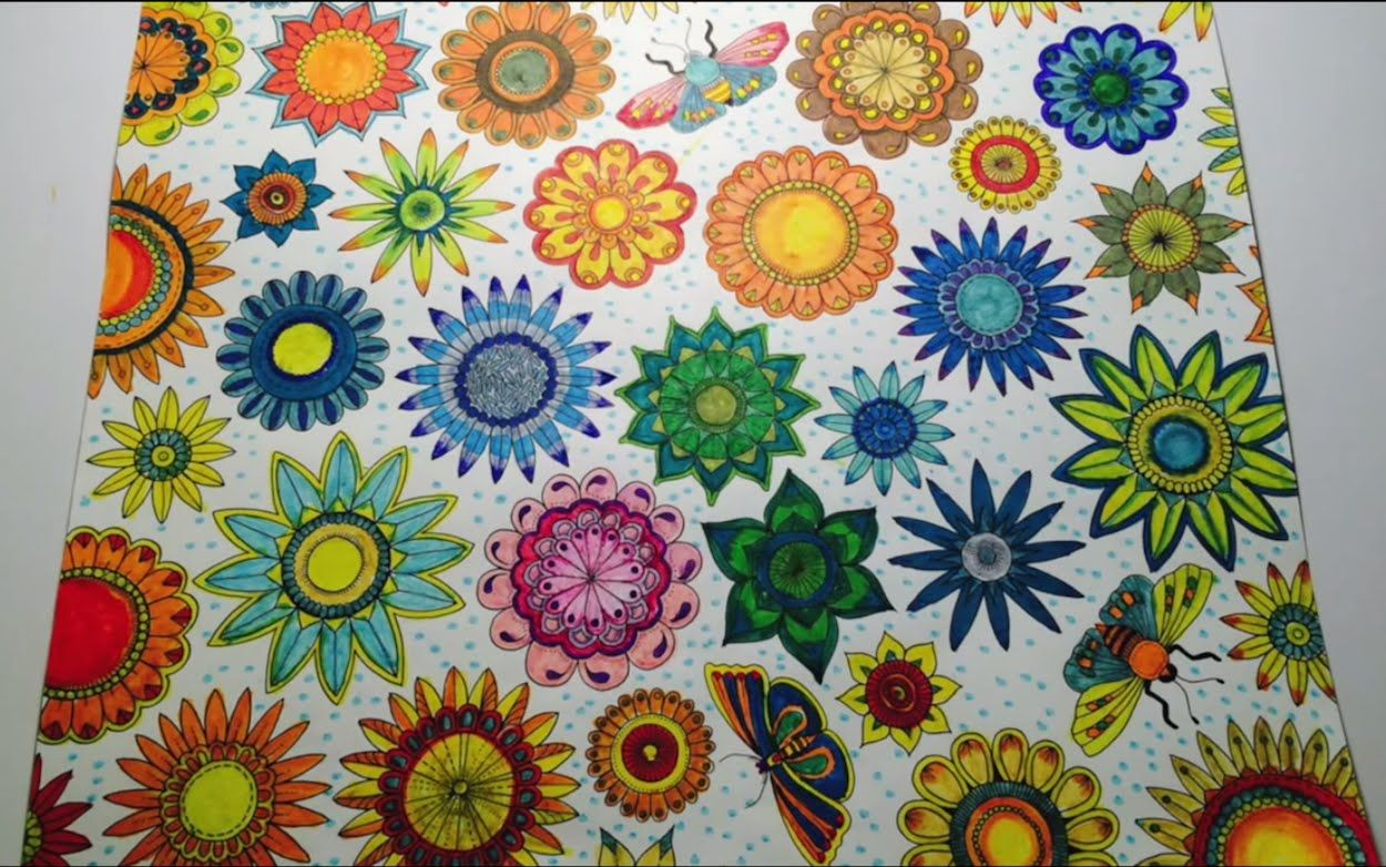 Secret Garden 11 20 Esrarengiz Bahce By Johanna Basford