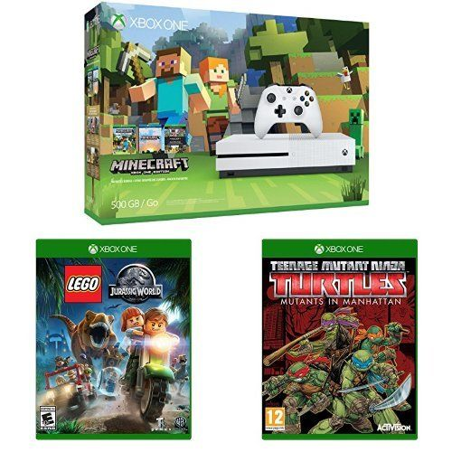 Xbox One S 500GB Console - Minecraft Bundle, LEGO Jurassi... https ...