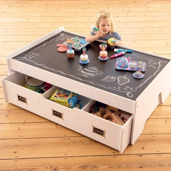 beschr nke unordnung im haus mit diesen 12 h bschen spieltischen f r kinder diy bastelideen. Black Bedroom Furniture Sets. Home Design Ideas