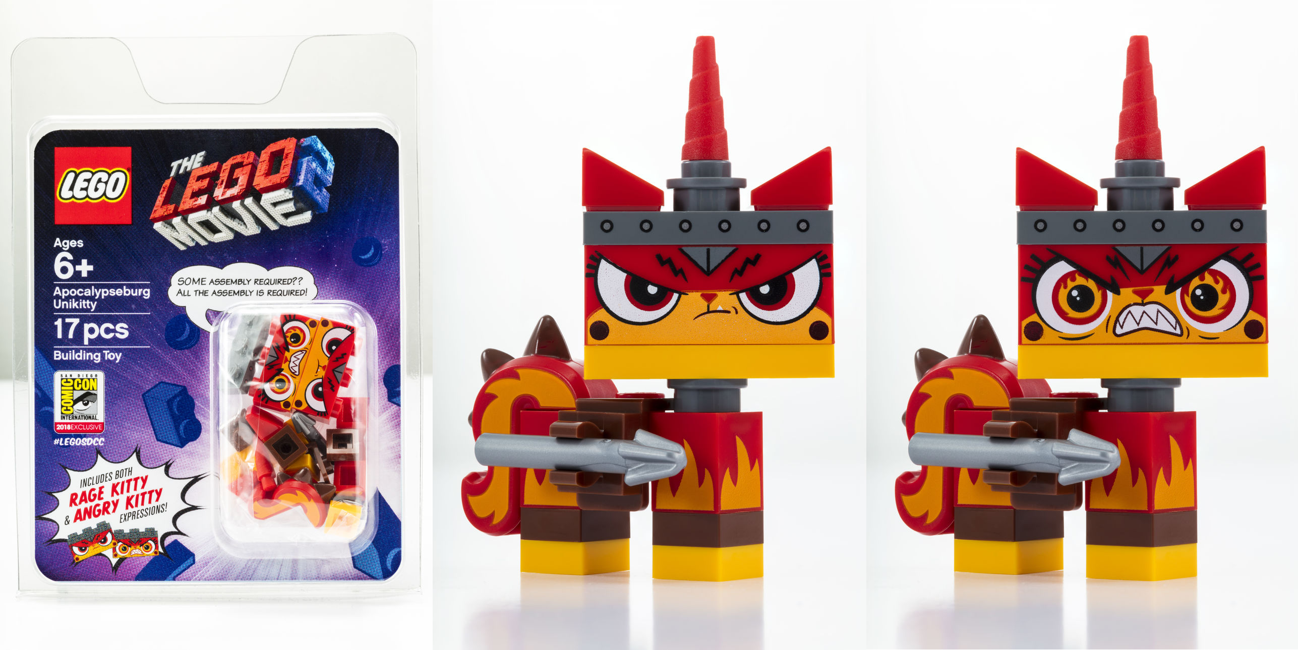 LEGO Movie Ultra Cat and Warrior Lucy 70827