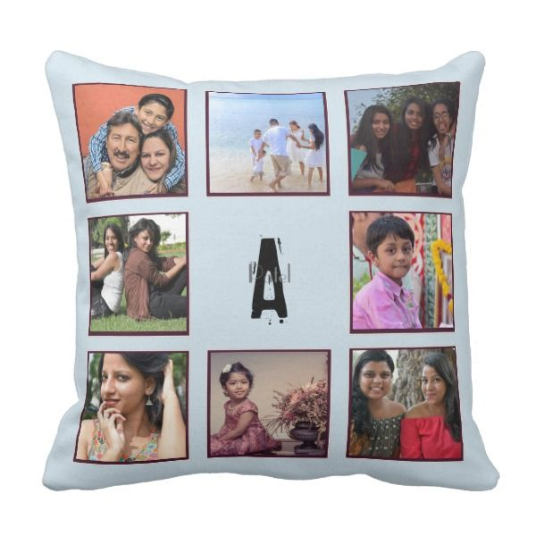 Unique Personalised Gift for Him Her India Monoram Throw Pillow ...