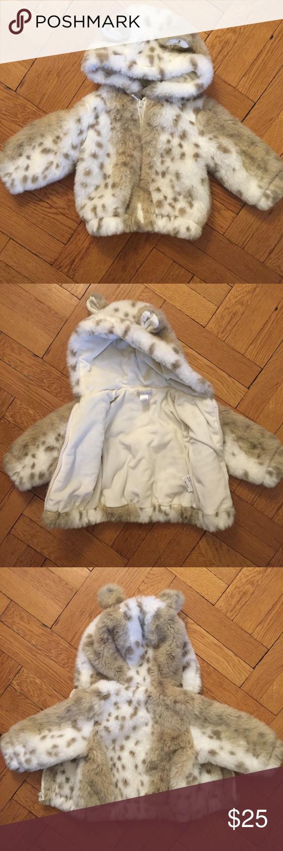 a5f41a93e Restoration Hardware baby   child faux fur coat Super adorable faux ...