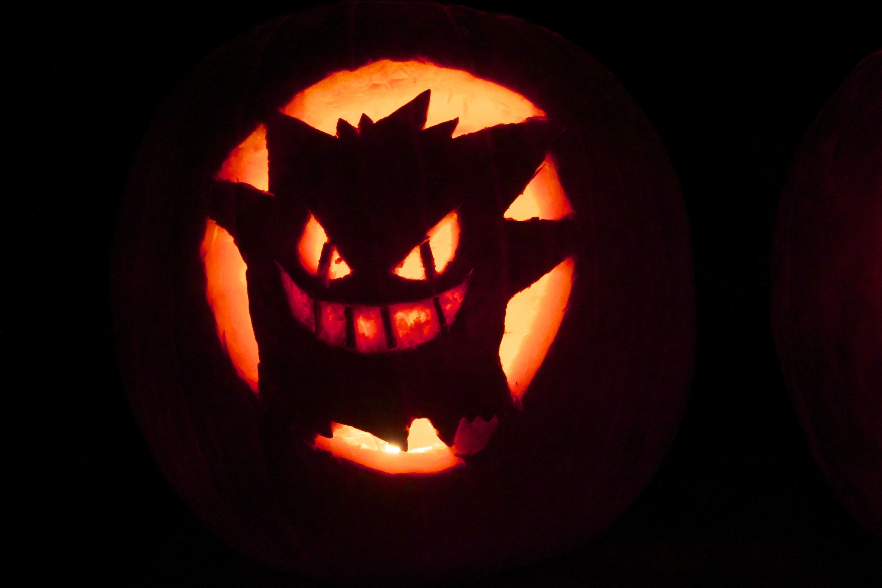 my very ugly gengar pumpkin pokemon games pinterest pokemon