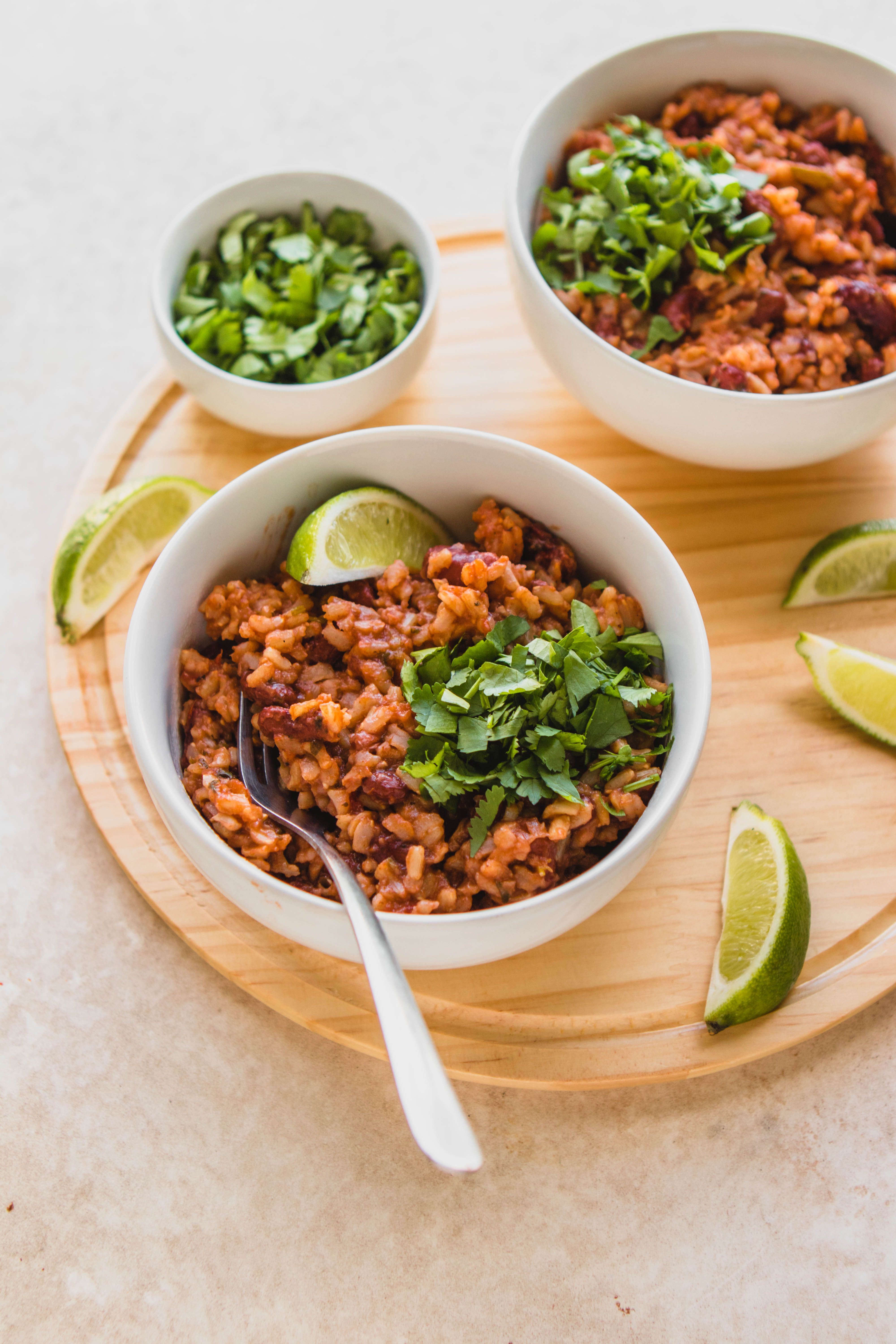 Instant Pot Rice Beans Only 5 Ingredients