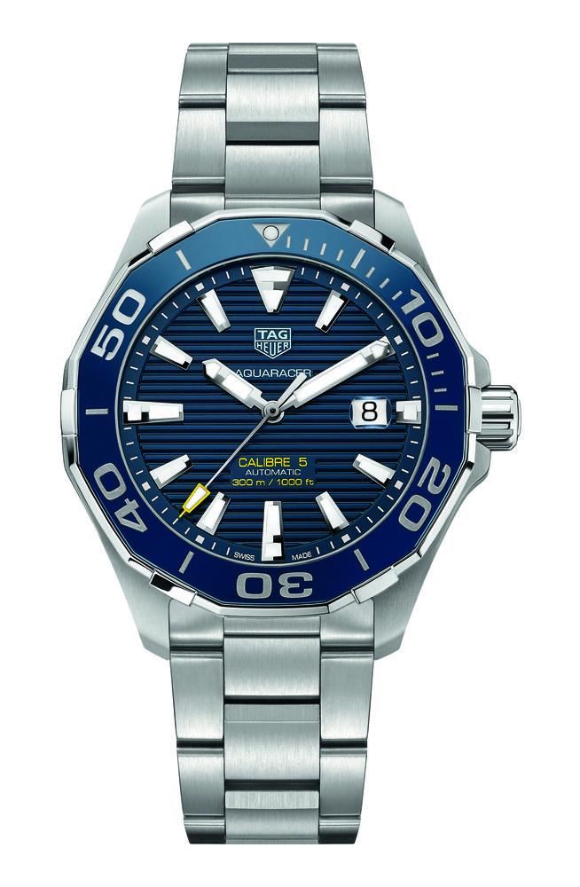 Réplica de alta calidad Tag Heuer Aquaracer azul marcar WAY201B.BA0927