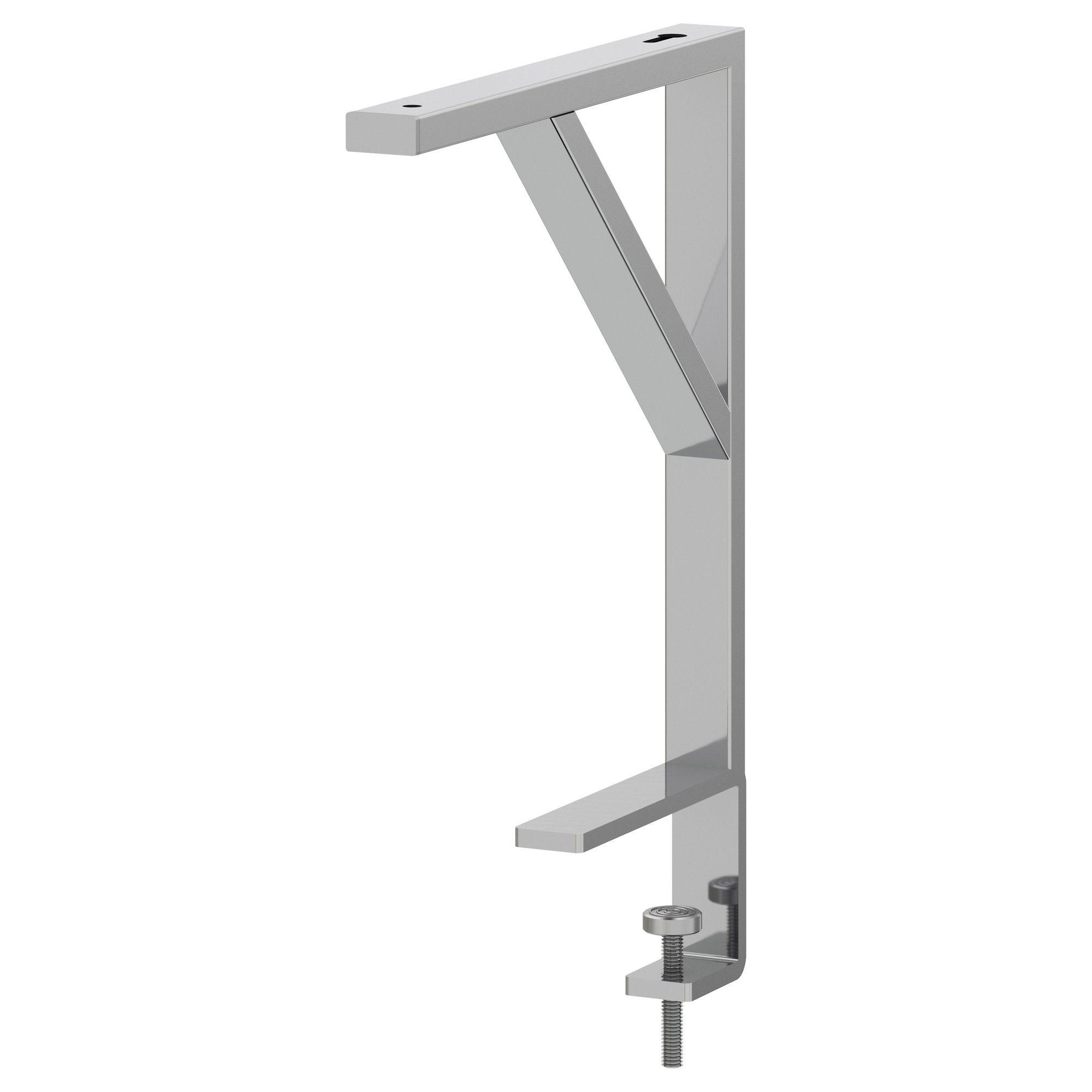 Ikea Tafelblad Wit.Ekby Tore Console Voor Tafelblad Wit Ikea Binnen