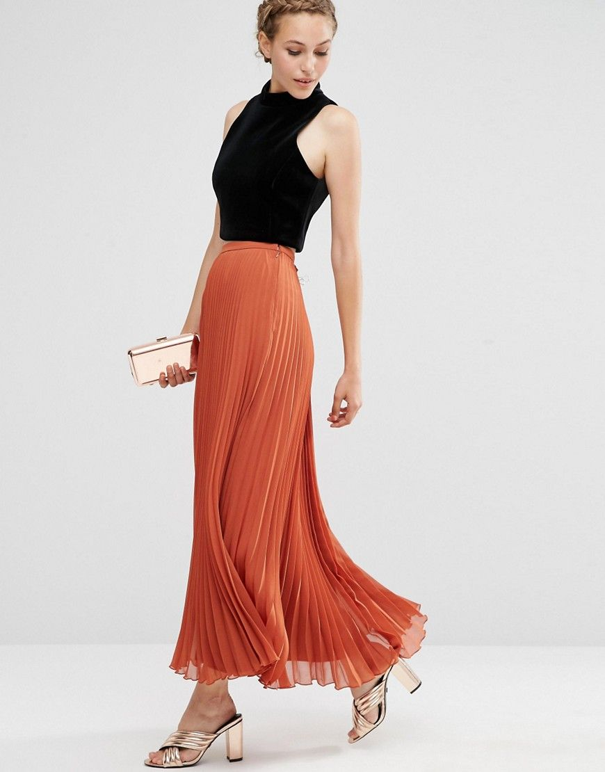 Watch - How to long wear pleated chiffon skirt video