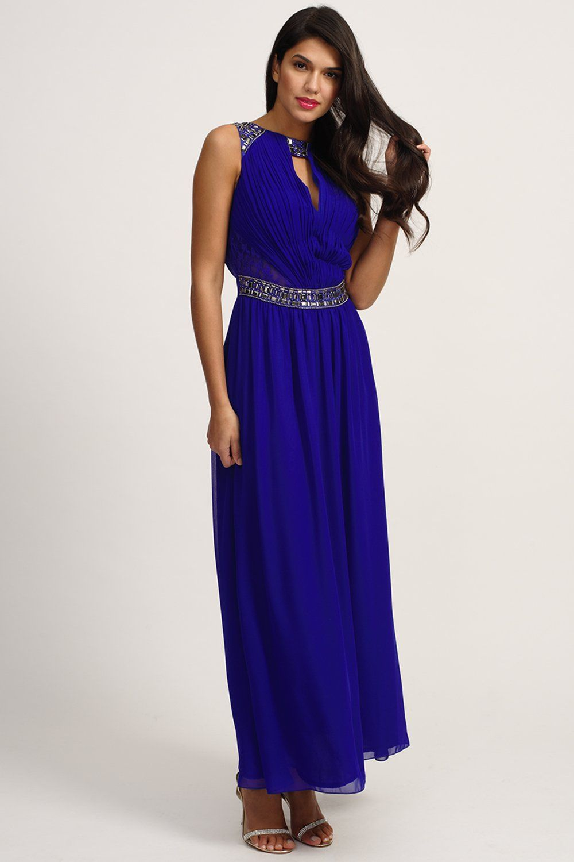 blue-maxi-dress- | Blue Maxi Dress | Pinterest | Blue maxi dresses ...