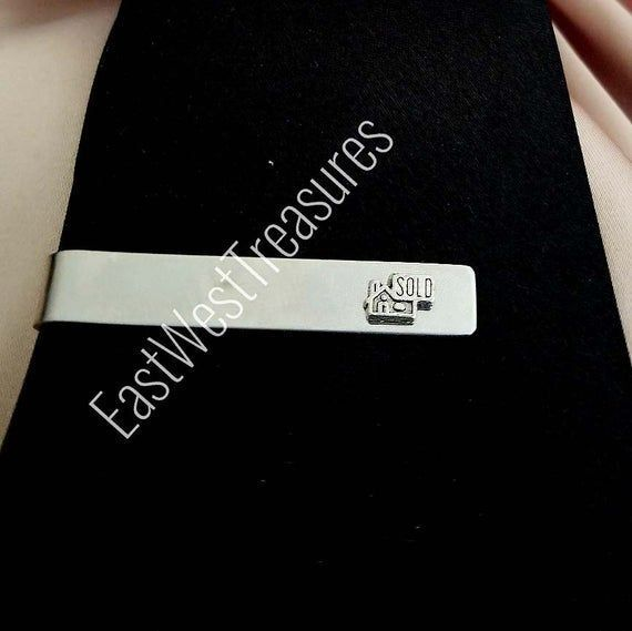 All Steel Real Estate Broker Tie clipsI just Sold home house tie clips suit ti  bitcoin