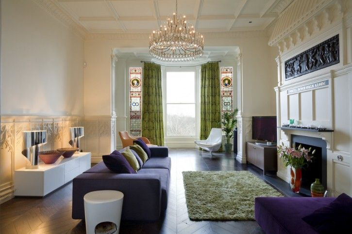 Curtains For High Ceiling Windows Living Room Contemporary With Delectable Bay Window Living Room Design Design Ideas