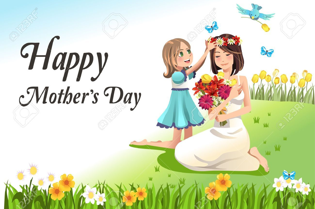 hight resolution of happy mothers day card
