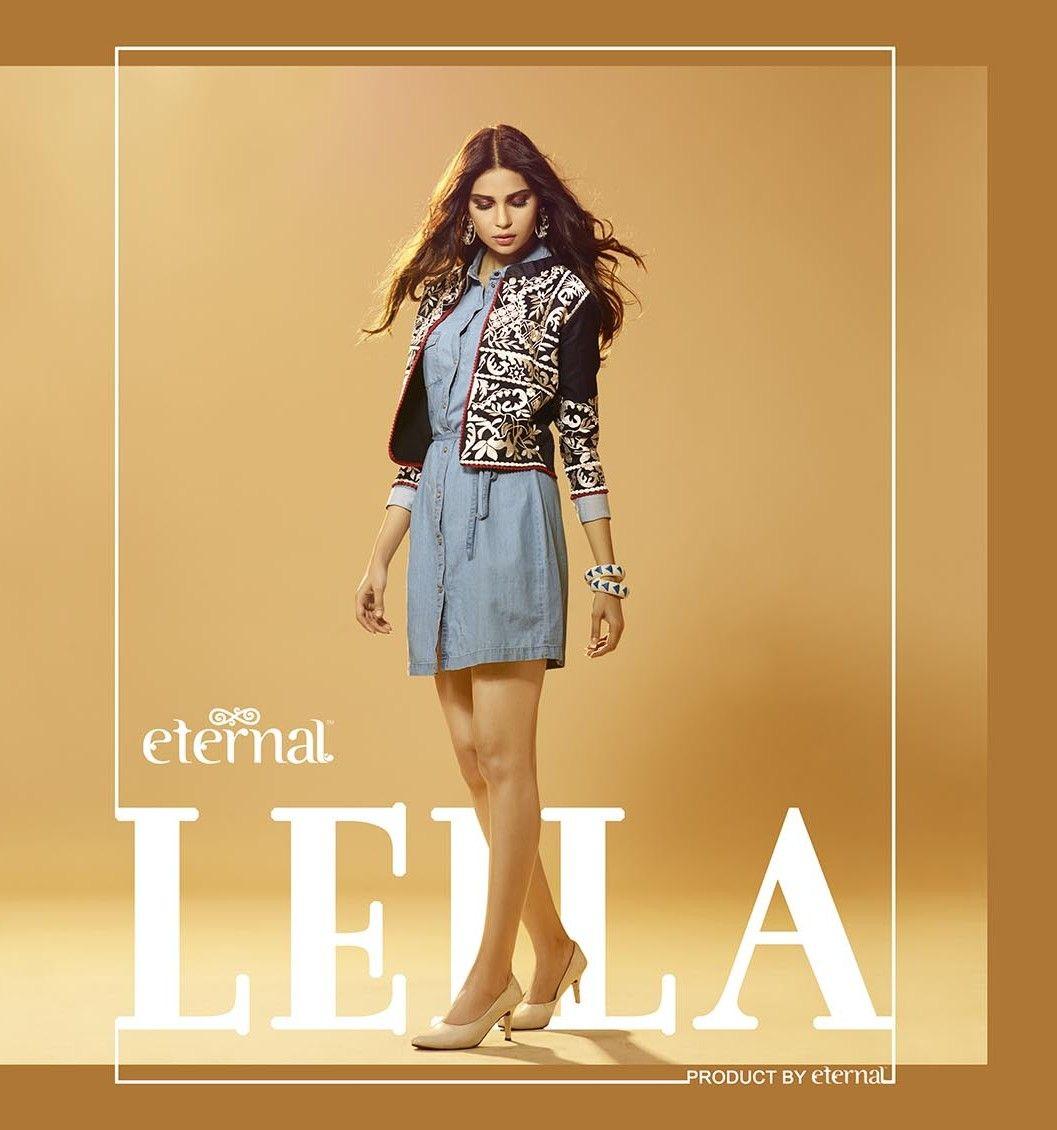 Eternal leila designer shrugs koti jacket style