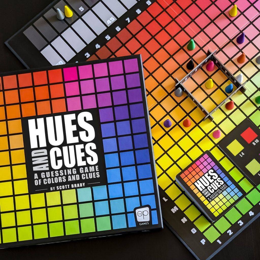 Stimulate Your Mind S Eye With The Colorful Guessing Game Of Hues And Cues Available Now The Op Games In 2020 Guessing Games Games Cue