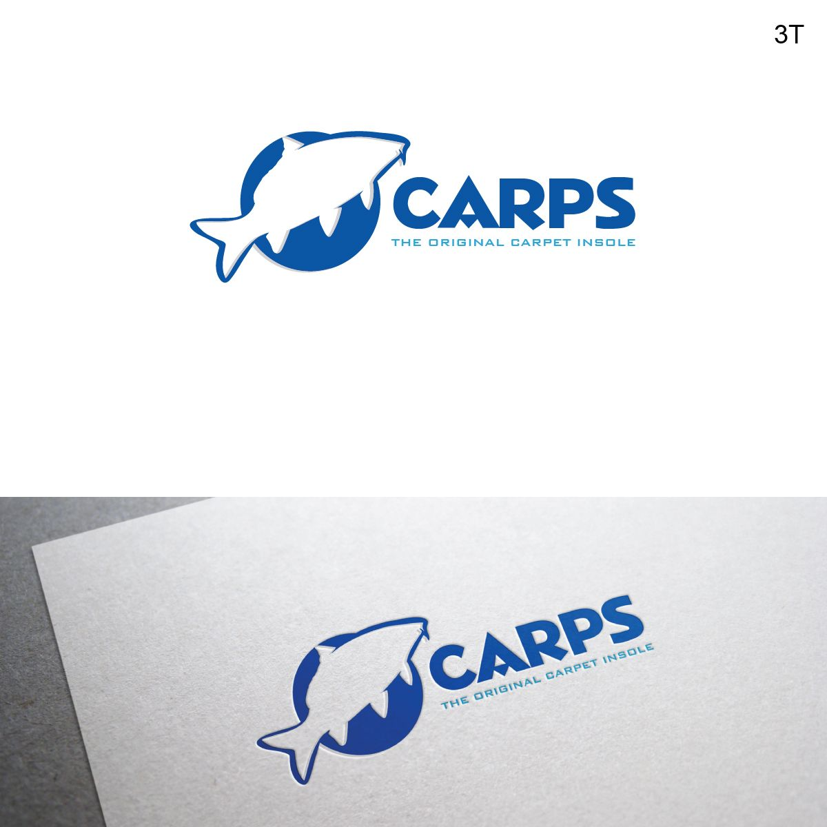 Product Logo Design - Fish Logo for use on Shoe... Elegant, Playful Logo Design by Esolbiz