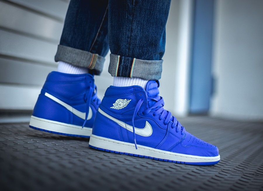 93f56b8bec2 Nike Air Jordan 1 Retro HI OG | 'Hyper Royal' Rare | Mens Trainers ...