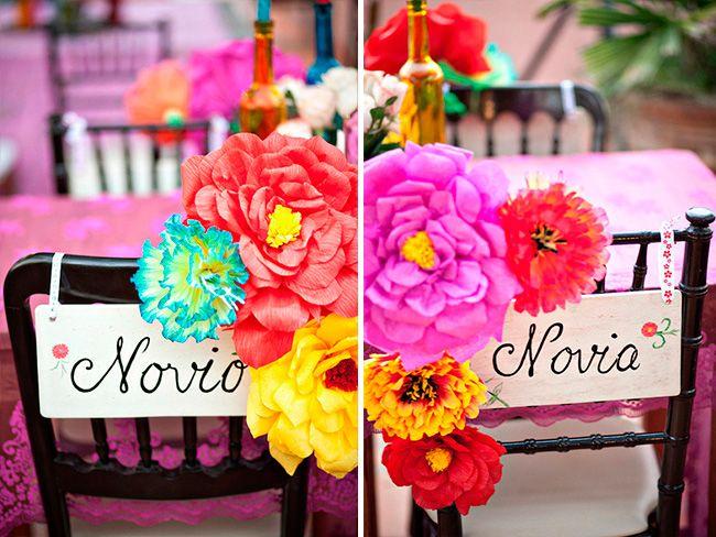Ideas para una boda estilo mexicano bodas mexicanas la for Decoracion mexicana
