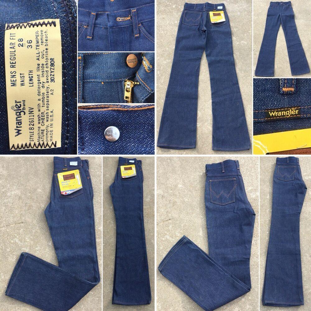 Vintage Wrangler Jeans Style 82611nv Talon Zipper W 28 L 36 Made In Usa Ebay Vintage Wrangler Jeans Vintage Wrangler Wrangler Jeans
