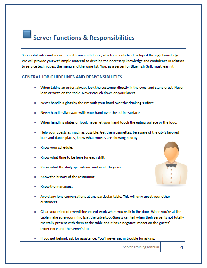 Training Manual Template Employee Handbook Template Manual Template Employee Handbook