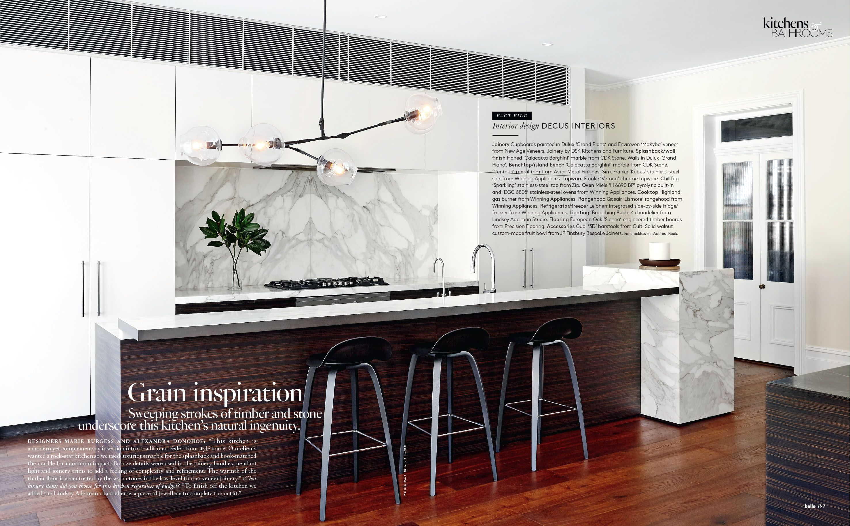 Belle Magazine October 2015 | Decus Interiors | Home | Pinterest