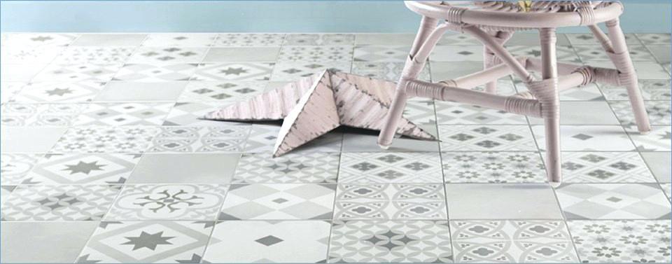 Carrelage imitation carreaux de ciment point p with - Carrelage imitation parquet point p ...