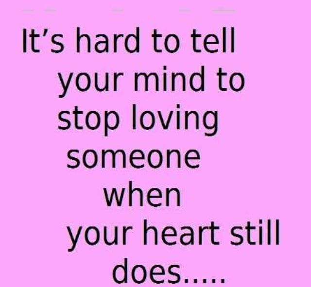 Then talk to your heart and tell it follow your mind 740style ...