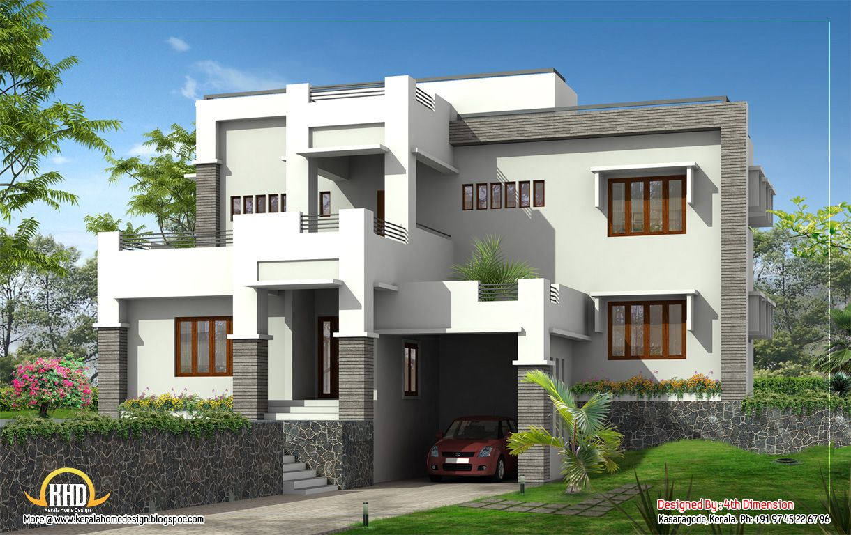 modern house elevations houses plans designs march kerala home