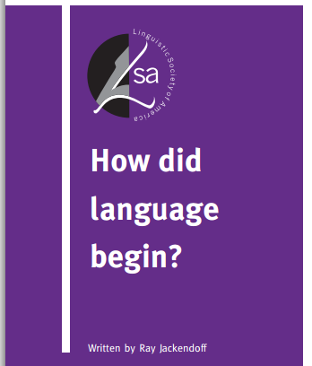 how did the language begin