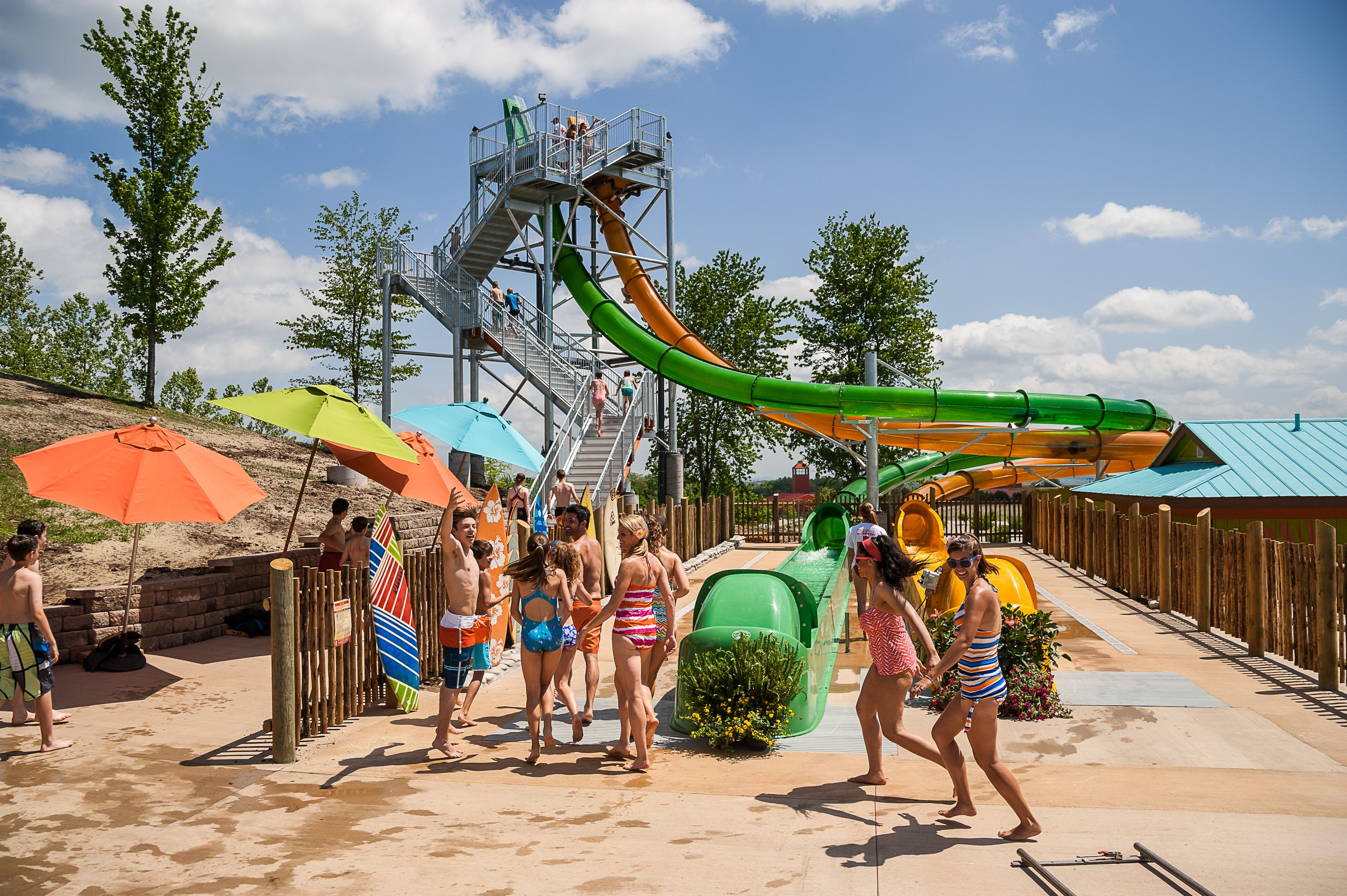 Newest Ride At Whitewater In Branson Kapau Plummet Whitewater Water Park Silver Dollar City