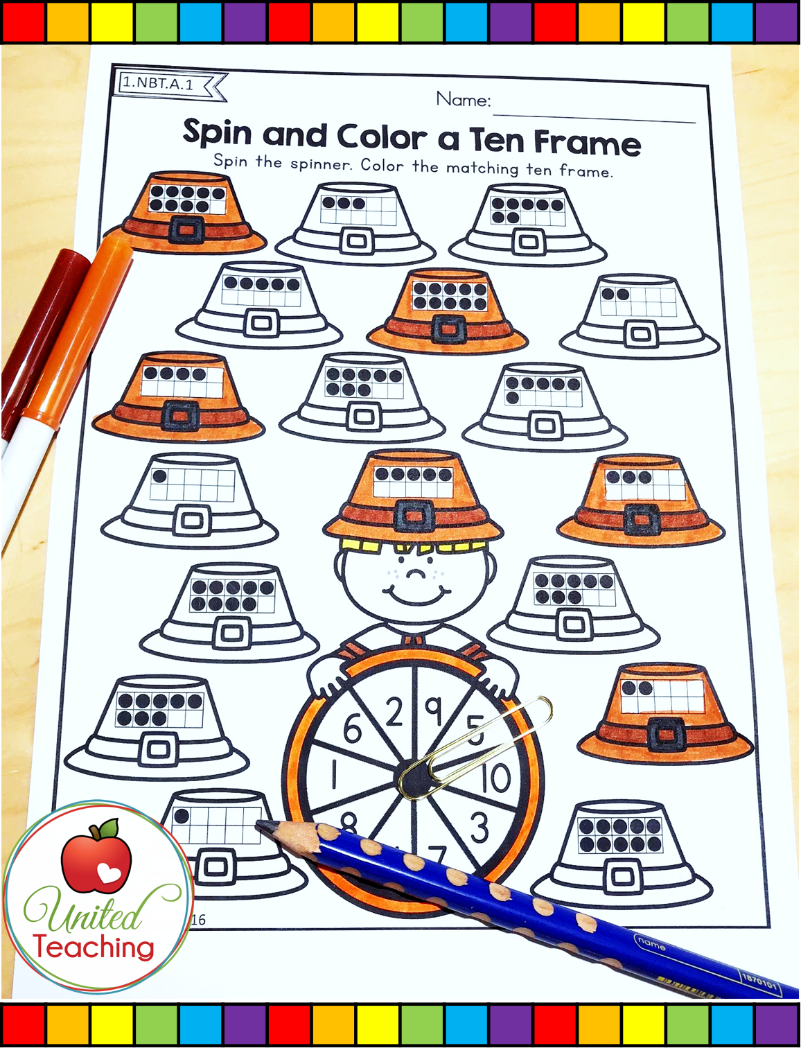 Thanksgiving Math Worksheets 1st Grade